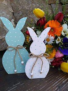 Dekorácie - veľkonočná dekorácia - zajačiky - 10581413_