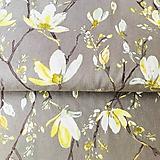 Textil - plátno Magnólie, 100 % bavlna, šírka 140 cm - 10579043_