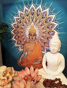 Obrazy - Osvietený Budha - 10580915_