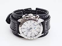 Náramky - Kožený remienok na hodinky Festina II - 10582238_