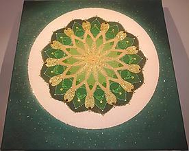 Obrazy - Osobná piesková mandala - 10580169_