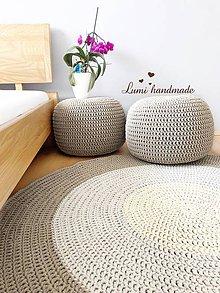 Úžitkový textil - Sedaci vak / puf - 10582332_