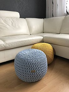 Úžitkový textil - Sedaci vak / puf - 10582368_