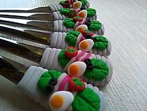 Pomôcky - Dezertné vidličky na slano - 10578737_