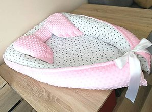 Textil - Hniezdo pre bábätko XXL - 10582495_
