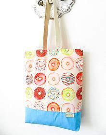 Nákupné tašky - Taška donuts II. - 10579449_