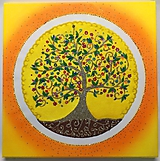 Obrazy - Rodinný strom života - 10580203_