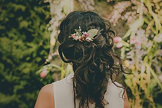 Ozdoby do vlasov - Mini hrebienok