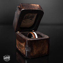 Prstene - drevená krabička EXCLUSIVE - 10579895_