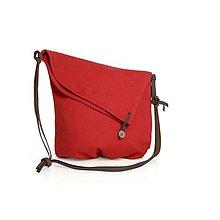 Veľké tašky - Plátená taška Pendula Purpurea - 10579536_