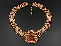 Náhrdelníky - Amonit - náhrdelník - 10580654_
