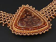 Náhrdelníky - Amonit - náhrdelník - 10580658_