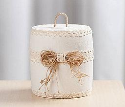 Krabičky - Romantická pokladnička - 10579263_