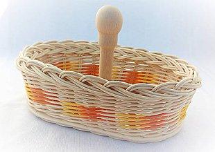Košíky - Košíček s rúčkou - 10580955_