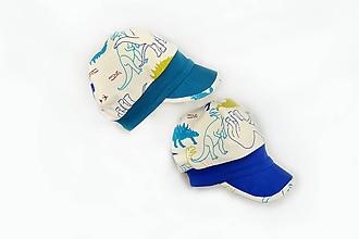 Detské čiapky - Šiltovka Dinosauri - 10582273_