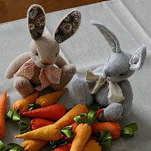 Dekorácie - zajačiky - 10580248_