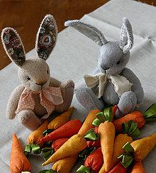 Dekorácie - zajačiky (Béžová) - 10580270_