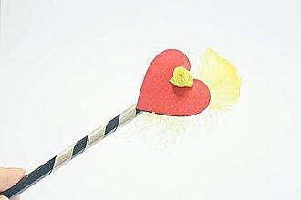 Dekorácie - Magická ceruzka srdce - 10579602_