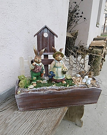 Dekorácie - Jarná dekorácia : hurá do záhradky - 10584552_