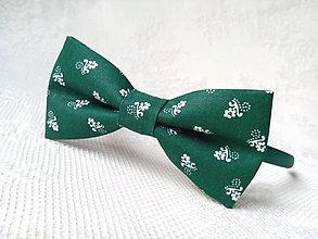 Ozdoby do vlasov - Dark green folklore headband - 10584395_