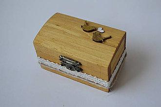 Prstene - krabička na prstienky s vtáčikmi - 10586224_