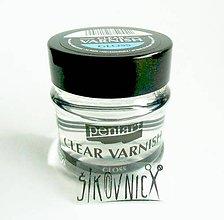 Farby-laky - Lak číry, riediteľný riedidlom, 50 ml, LESKLÝ - 10584515_