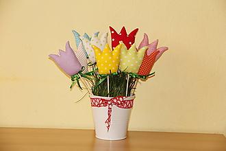 Dekorácie - Tulipány - 10585986_