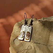 Náušnice - smaltované náušnice - 10585597_