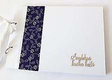 Papiernictvo - svadobná kniha hostí - 10582658_
