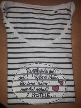 Tričká - Pásikavé tričko - 10584540_