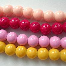 Korálky - Sklenené perly Panacolor ™ 10mm-1ks - 10585870_