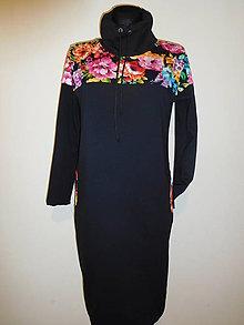 Šaty - I černá může rozkvést - 10583185_