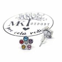 Náušnice - Náušničky pre radosť  (Kvietok) - 10585326_