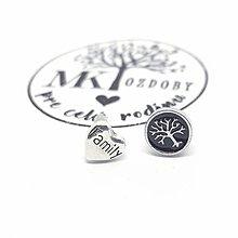 Náušnice - Náušničky pre radosť  (Family & strom života) - 10585385_