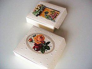 Krabičky - šperková (vyklápacia) - 10584255_