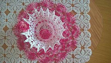 Dekorácie - Ružová dekorácia-Veľká Noc - 10582980_