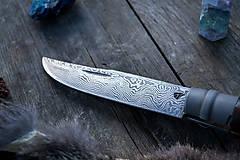 Nože - Damaškový opinel - 10584293_