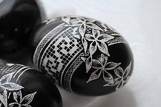 Dekorácie - čiernobiela klasika (sada 4 ks) - 10584627_