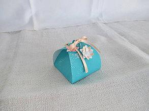 Drobnosti - Roztomilá krabička (Modrá) - 10585144_