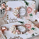 Papiernictvo - Svadobná kniha hostí - 10584793_