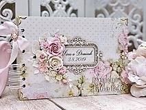 Papiernictvo - Svadobná kniha hostí - 10584868_