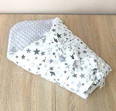 Textil - Multifunkčná zavinovačka/deka +vyberateľná vložka - 10584410_
