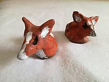 Dekorácie - Keramická líška - 10583314_