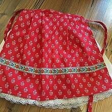 Detské súpravy - suknička so zásterkou - 10583729_