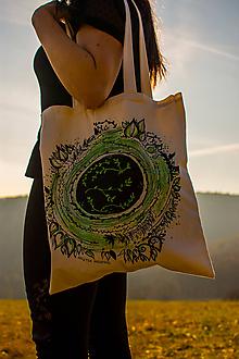 Nákupné tašky - Z lístočkov - eko taška na nákupy - 10583173_