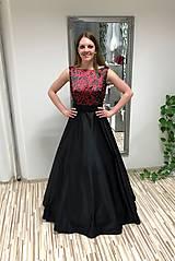 Šaty - Saténové šaty Šarlota I. - 10583972_