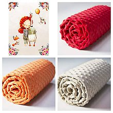 Textil - Detské deky so svojím menom - 10586320_