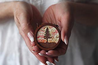 Náhrdelníky - Strom (Červená) - 10585221_