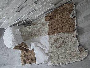 Úžitkový textil - Boucle deka - 10582609_