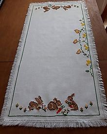 Úžitkový textil - Vyšívané prestieranie (5) - 10584524_
